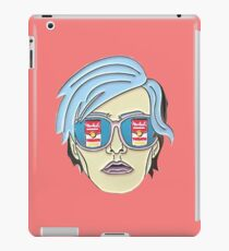 andy warhol portrait iPad Case/Skin