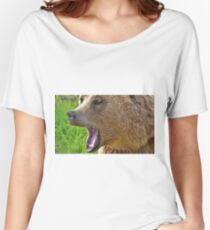 Roaring Grizzly Bear Women's Relaxed Fit T-Shirt