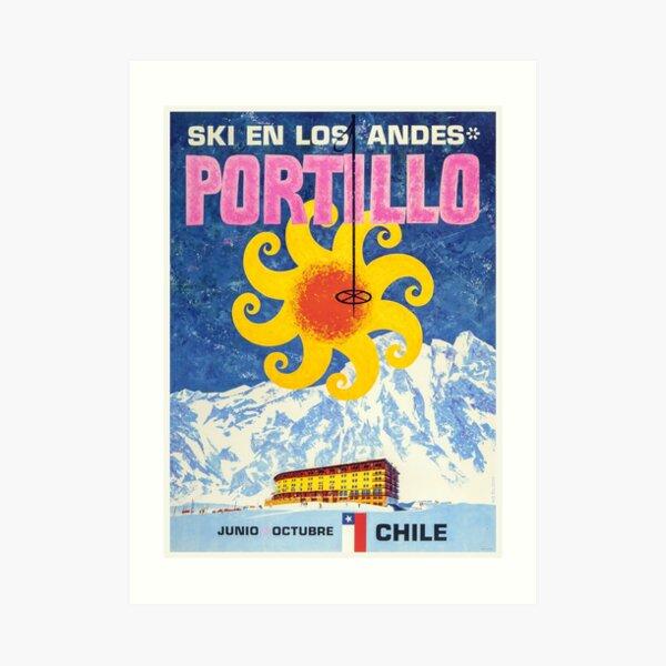 Portillo,Chile,Ski Poster Art Print
