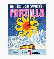 Portillo,Chile,Ski Poster Photographic Print