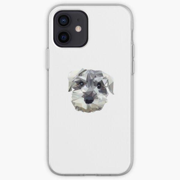Schnauzer Funda blanda para iPhone