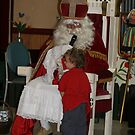 Young and old meet St Nicholas, @ the Rembrandt Club '08.  by MrJoop