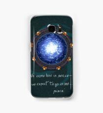 Stargate quote Samsung Galaxy Case/Skin