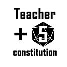 Teacher d20 Constitution by Christopher Myers