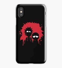 Schwifty - Red Splatter iPhone Case/Skin