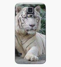 Weißer Tiger 4 Hülle & Klebefolie für Samsung Galaxy