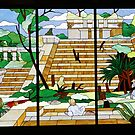 Mexican stained glass by supermimai