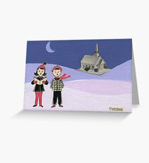 The Carolers Greeting Card