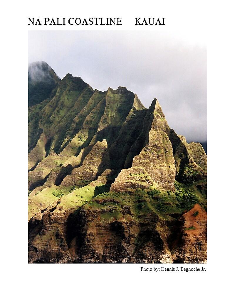 Na Pali Coastline by Dennis Begnoche Jr.