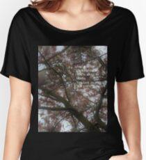 Fall Out Boy centuries lyrics Women's Relaxed Fit T-Shirt