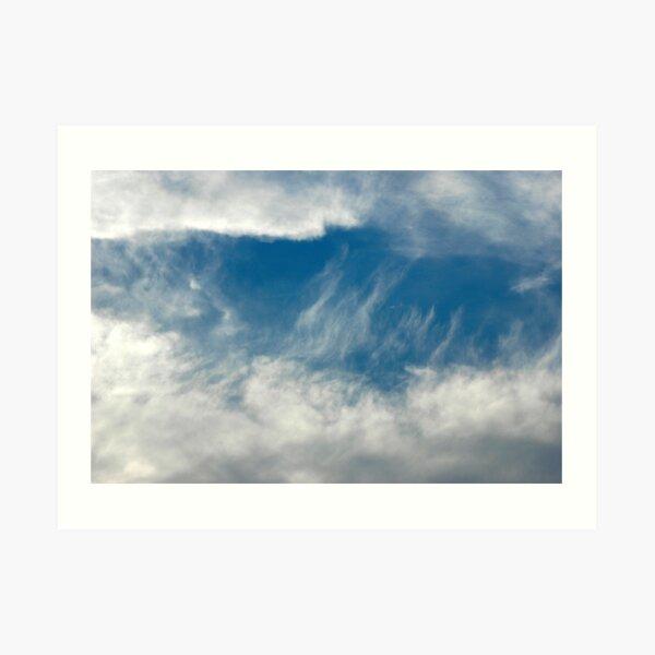 A Window of Heaven Art Print