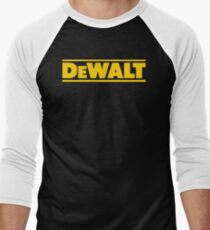 BEST SELLER SG113 T Shirt T Shirt Dewalt Power Heavy Tools Bohrer Air Kreisformige New Product Men's Baseball ¾ T-Shirt