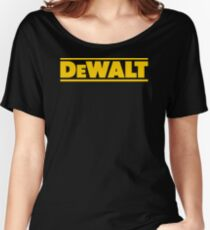 BEST SELLER SG113 T Shirt T Shirt Dewalt Power Heavy Tools Bohrer Air Kreisformige New Product Women's Relaxed Fit T-Shirt