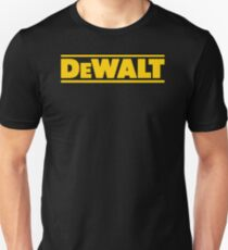 BEST SELLER SG113 T Shirt T Shirt Dewalt Power Heavy Tools Bohrer Air Kreisformige New Product Unisex T-Shirt