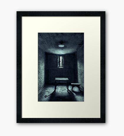 The House Of A Locked Mind Framed Print