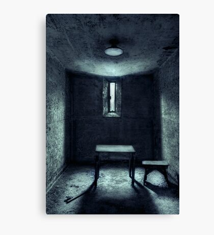The House Of A Locked Mind Canvas Print
