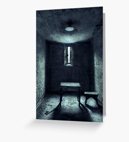 The House Of A Locked Mind Greeting Card