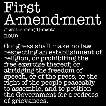 First Amendment Constitution Free Speech by fishbiscuit