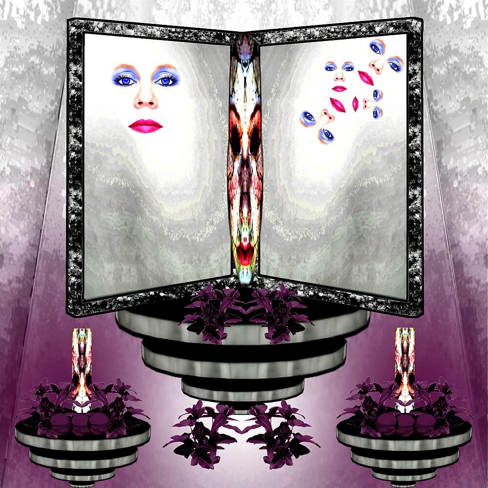 Mirror of many faces by CheyenneLeslie Hurst