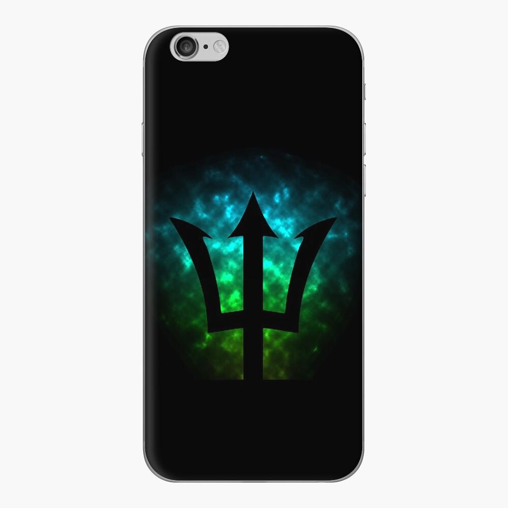 Tridente / Poseidón / Percy Jackson Vinilo para iPhone