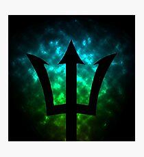Trident / Poseidon / Percy Jackson Photographic Print