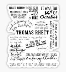 thomas rhett life changes album lyrics Sticker