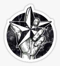 Vintage Nautical Star Sticker