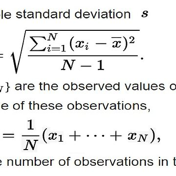 #Sample #Standard #Deviation #Formula  Statistics by znamenski