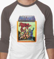 He-Man Masters of the Universe Battle Scene Men's Baseball ¾ T-Shirt