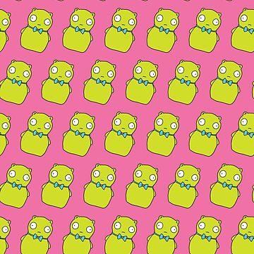 Kuchi Kopi Pattern Pink by llier4