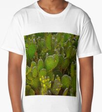 Southwest Prickly Pear Cactus Long T-Shirt