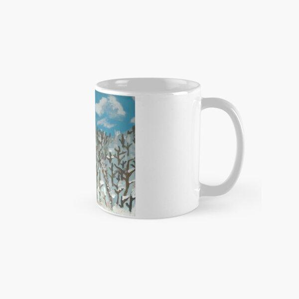 Snow Covered Mountains Classic Mug