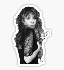 stevie nicks - bella donna, flowers Sticker