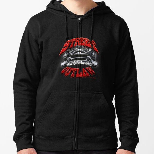 Fox Riders Torn Apart Zip Hoodie Sweatshirt Jacket NWT