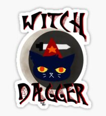 Witch Dagger Sticker