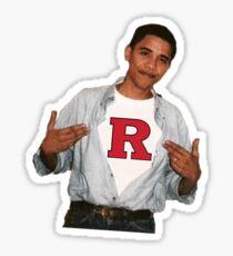Obama Rutgers Sticker