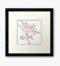 Rat-Bird Framed Print