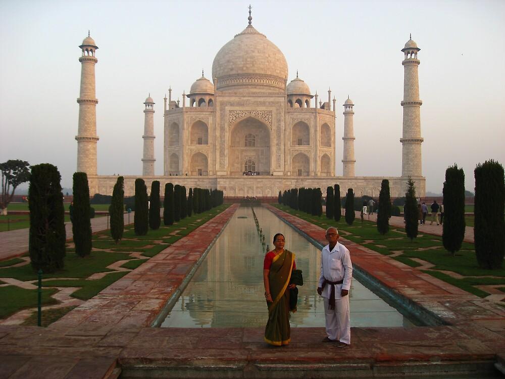 The Taj Mahal by mypics4u