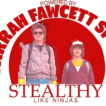 Stranger Things - Farrah Fawcett Spray  by martianart