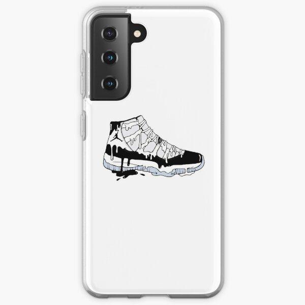 Jordan 11 Art Funda blanda para Samsung Galaxy