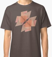 Texured Rose Gold Classic T-Shirt
