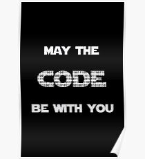 May The Code Be With You Poster