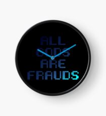 All gods are frauds Clock