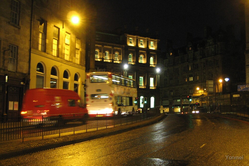 Morning at the top of Leith Walk by Yonmei