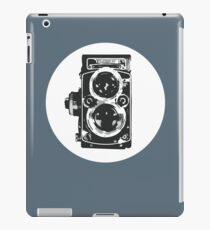 Unique Lens And Body: Cool Classic Vintage Camera T-Shirt iPad Case/Skin
