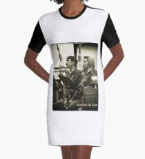 Lee and Nancy Graphic T-Shirt Dress