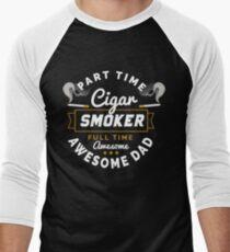 Cigar Gift for Dad   Cigar Gift For Men   Cigar Gift For Him   Cigar Gift for Dad   Unique Cigar Gifts   Cigar Shirt   Birthday Cigar Gift   Cigar Lovers  Men's Baseball ¾ T-Shirt