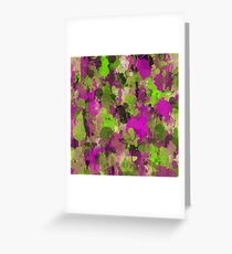 Rhapsody of colors 3. Greeting Card