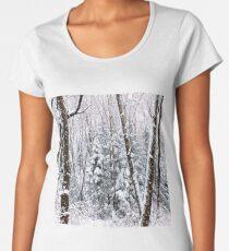Snowy Scene Women's Premium T-Shirt