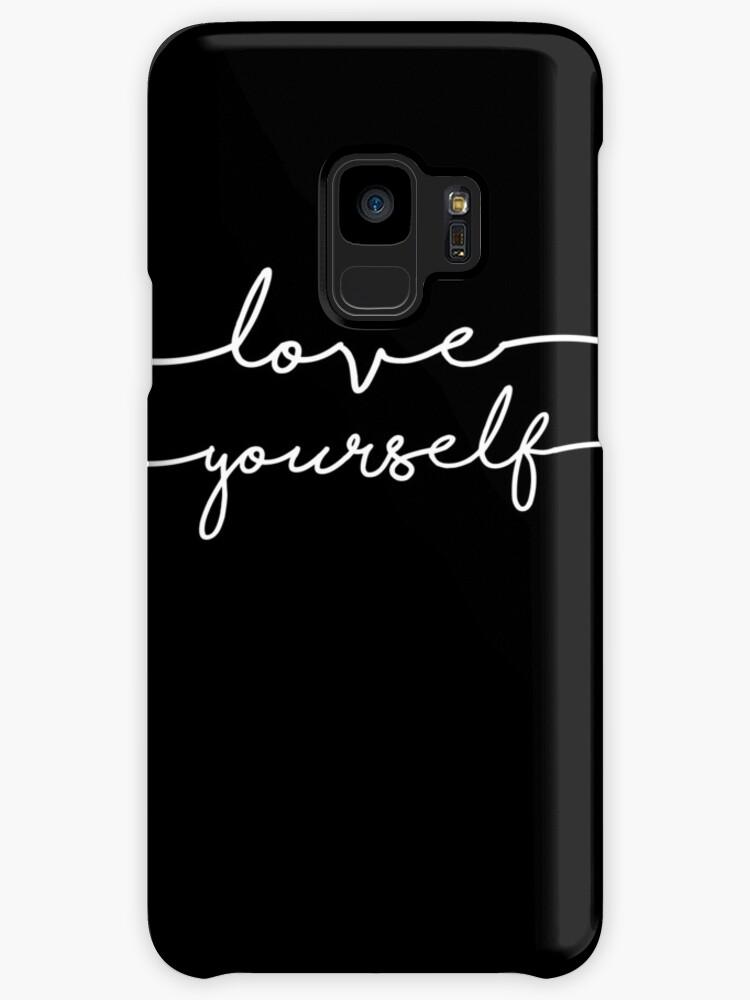 Bts Bangtan Boys Love Yourself Design Cases Skins For Samsung